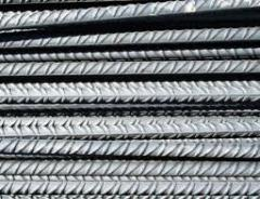 Smooth reinforcing steel, armature