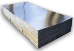 Plate aluminum