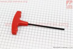 """Ключ """"шестигранный"""" 5мм, L=125мм для"""