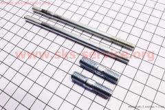 Шпильки карбюратора М6х110мм 2шт и выпускного