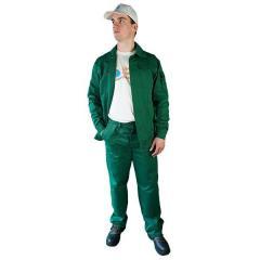 Костюм ЕВРО зеленого цвета Саржа размер...