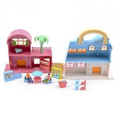 IM418 Домик для куклы площадка Мебель игрушка