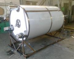 Резервуары для созревания сливок и производства кисломолочных продуктов
