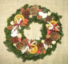 Новогодние украшения Изделия из стекла, керамики,
