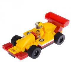 IM64B2 Конструктор машина гночная желтая с красным