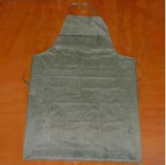 The apron rubberized