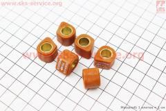 Ролики вариатора D-форма 6шт, 15*12 - 6г, Тюнинг