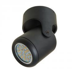 KWS-03 GU10 BK светильник поворотный