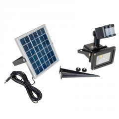 HL-42P/10W SMD CW IP65 solar led прожектор с