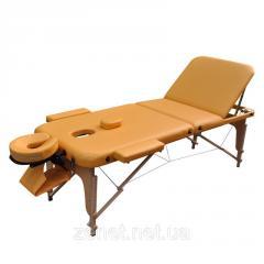 Массажный стол Zenet ZET-1047 YELLOW размер L