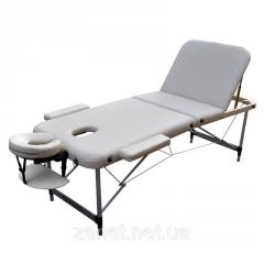 Массажный стол Zenet ZET-1049 CREAM размер L