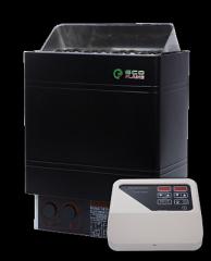 Электро-каменка для сауны и бани EcoFlame AMC 60-D 6 кВт + пульт CON4
