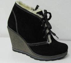 Обувь женская зимняя,  ботильоны зимние