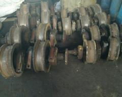 Колеса крановые 500х550х160мм