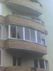 Рама балконная раздвижная