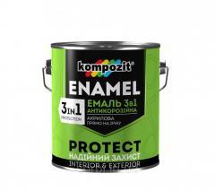 Эмаль антикоррозионная 3 в 1 PROTECT