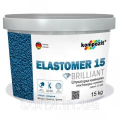 Штукатурка камешковая эластомерная ELASTOMER 15 15