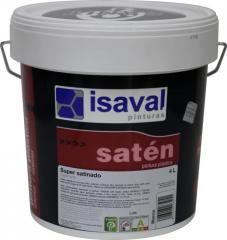 Сатинадо Супер - краска с блеском для стен и обоев ISAVAL 4л до 60м2