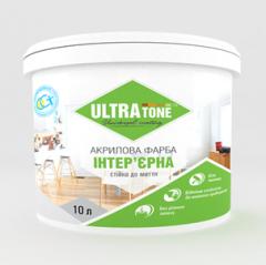 """Акриловая краска интерьерная """"Ultratone"""" стойкая к мытью"""