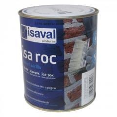 Лак для камня Иза-Рок 0.75л ISAVAL фасадный гидроизоляционный «мокрый эффект»