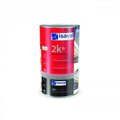Полиуретановый матовый, полуматовый, глянцевый лак для бетонного пола 2Кр ISAVAL 16л