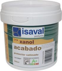 Акриловый открытопористый прозрачный лак Ксанол Акабадо incoloro 0,5л=7м2
