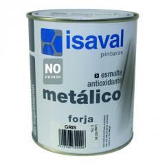 Серебристая антикоррозионная эмаль под ковку - Форха 0,75л=7м2