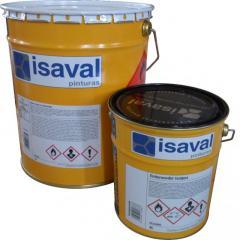 Краска эпоксидная для бетонных полов и железных изделий, 2-компонентная Изалпокс (жемчужно-серый) 16л до 120м2