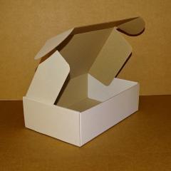 Коробка самосборная белая 250х170х80