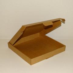 Коробка самосборная крафт 280х280х40
