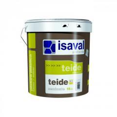 Краска интерьерная ISAVAL Тейде (Испания) 4 л белый - краска высшего качества для стен и потолков