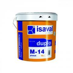 Интерьерная краска Isaval М-14 ПИНМАТ 8 л белый