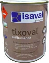 Краска для покраски влажных, мокрых поверхностей Тиксоваль против влаги 0,75л ISAVAL