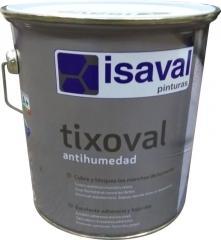 Краска для покраски влажных, мокрых поверхностей Тиксоваль против влаги 4л ISAVAL