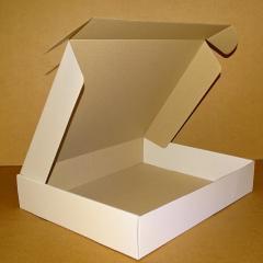 Коробка самосборная белая 430х350х80