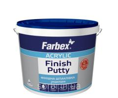 Шпаклёвка финишная Farbex