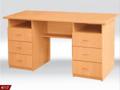 Desk. Furniture office from the producer