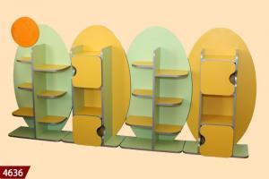 Детский сад, Стенка детская (МДФ), мебель для