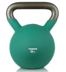 Гиря в неопрене FOREMAN 36 кг (FM-TTK-36kg-green)