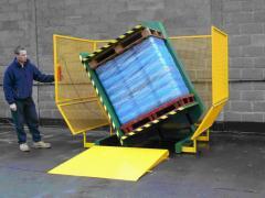 Inverter (inverter, tilter, rotator) pallet