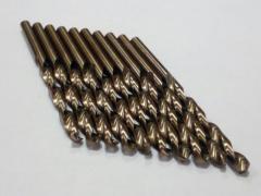 Сверло по металлу Р18 (кобальт) 4, 8 мм, ...