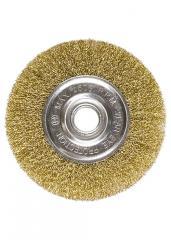 Щетка для УШМ,  125 мм,  посадка 22, 2 мм, ...