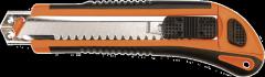 Нож с отламывающимся лезвием 18мм, 3 лезвия TOPEX