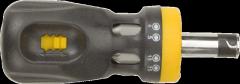 Отвертка с трещоткой и насадками TOPEX 39D517