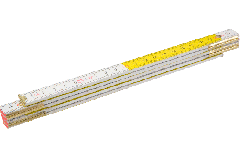 Метр складной деревянный 2000мм TOPEX 26C006