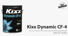 Kixx oils, greasings.