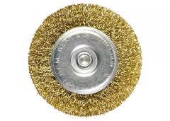 Щетка для дрели 100 мм,  плоская со...