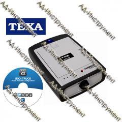 Action!!! Cargo diagnostics of TEXA Tribox Mobile