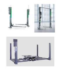 Elevators automobile electrohydraulic and