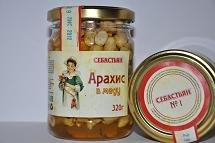 Peanut in honey, 320 g